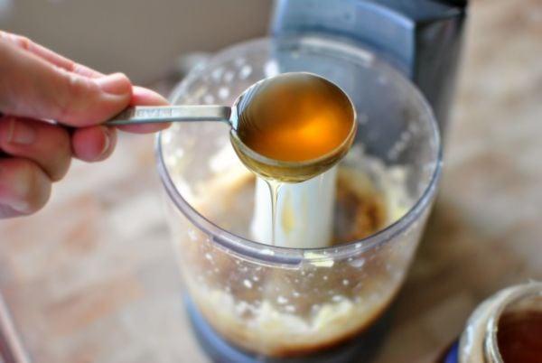 Мед, оцет и чесън
