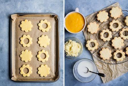бисквити с мед и лимон
