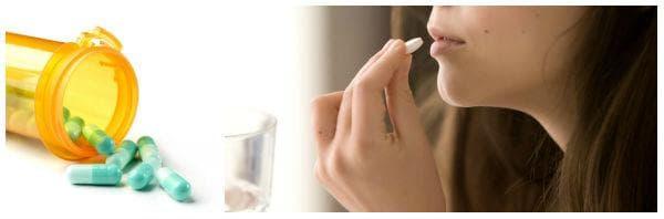 Медикаментозно лечение при мастит - обезболяващи (ибупрофен, парацетамол), антибиотици
