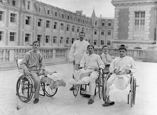 Оцелели войници от Първата световна война