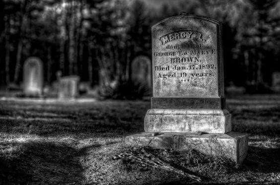 Гробът на Мърси Браун