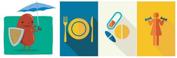 Мерки за профилактика на диабетна нефропатия: диета, физическа активност, редовни изследвания