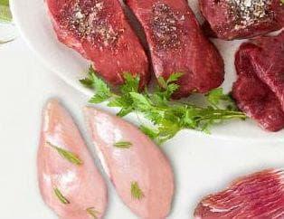 Парчета месо