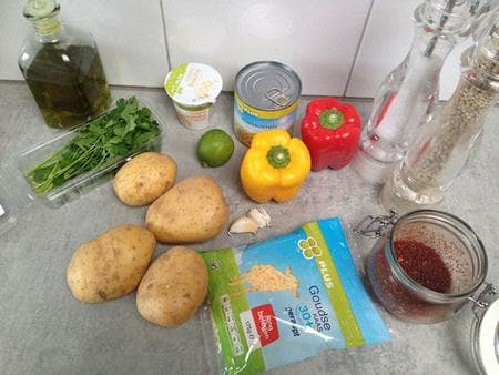 печени картофи по мексикански