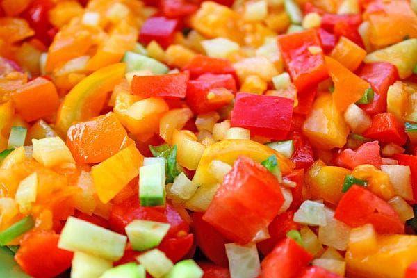 Задушени зеленчуци с риган