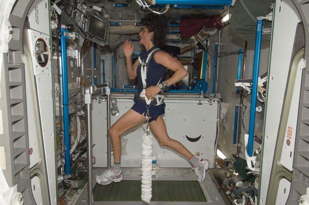 Тренировка в космоса