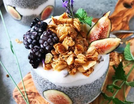 млечен десерт