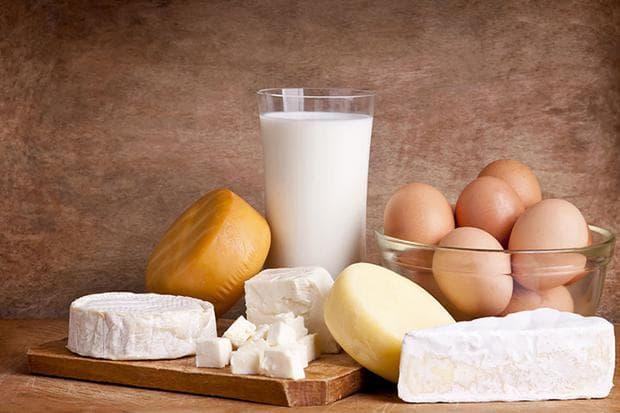 Яйца, мляко и млечни продукти
