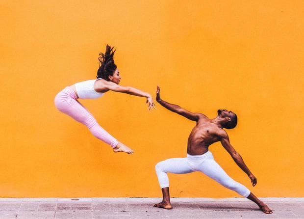 Балерина и балетист
