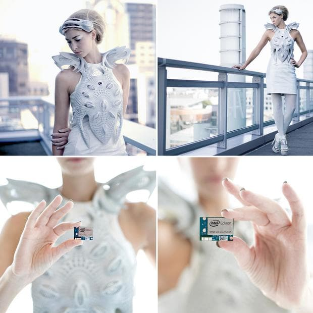 рокля със сензори