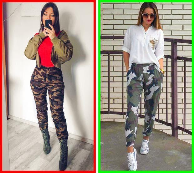 токчета с военни дрехи