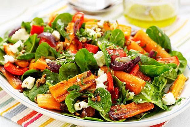 Спанак и моркови
