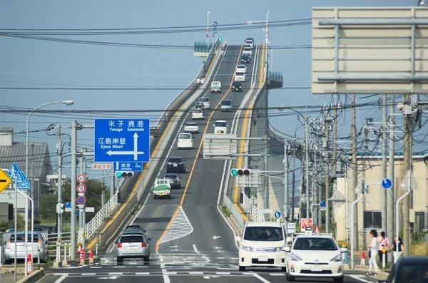мостът Ешима Охаши