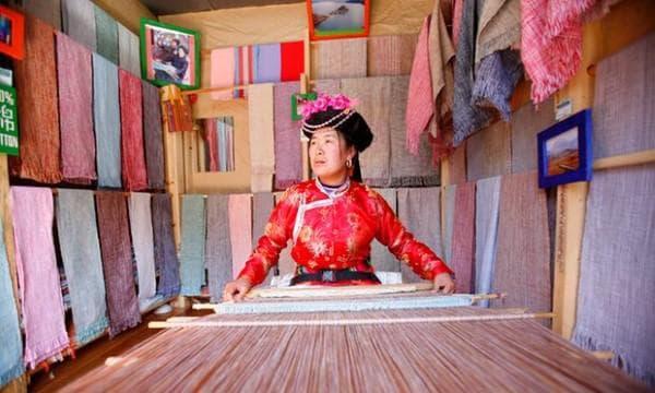 Жена от племето Мосуо