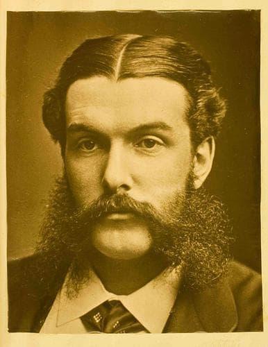 викториански мустак
