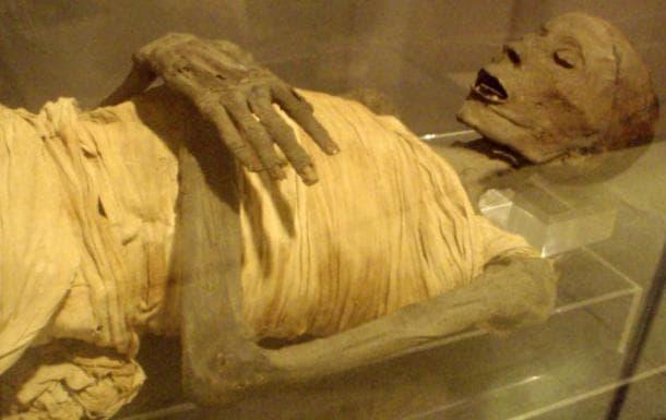 Усермонту в Музея по египтология в Сан Хосе