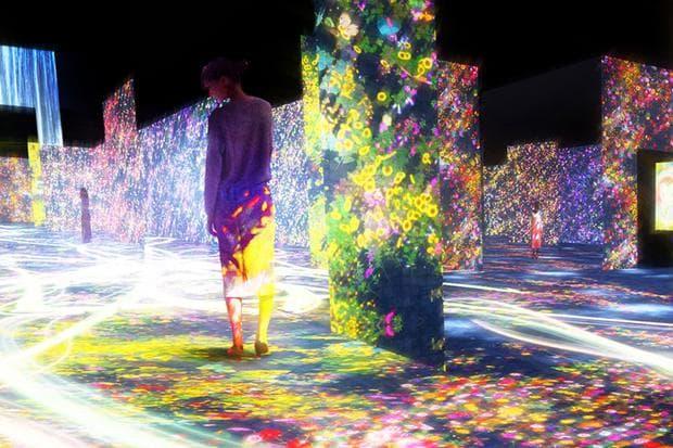 Музей на дигиталното изкуство в Токио