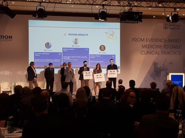 награда за д-р Шишманов от Виена