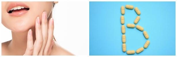Витамини Б за коса, кожа и нокти