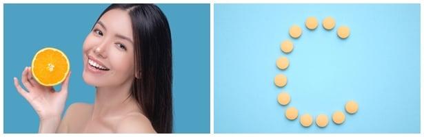 Витамин C коса, кожа, нокти
