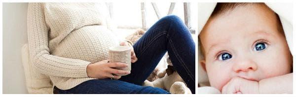 Намаляване консумацията на кофеин при бременност и кърмене
