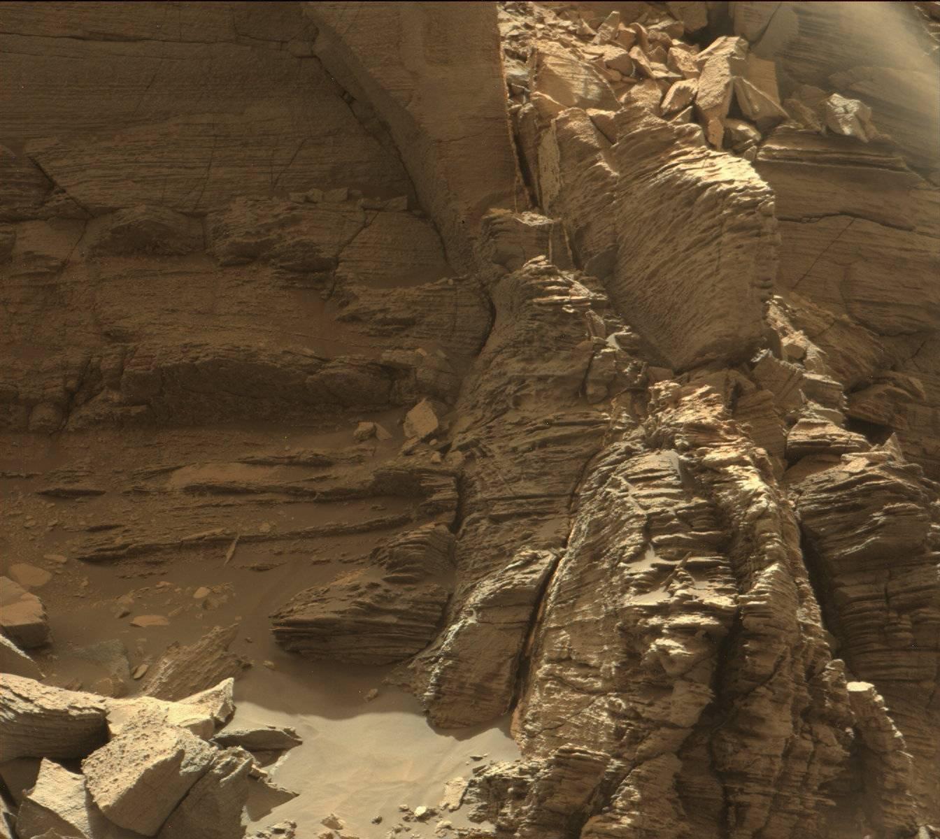 Низината Мъри Бътс на Марс
