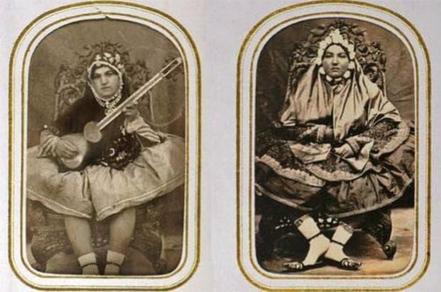 Още снимки на наложници в харема на шаха