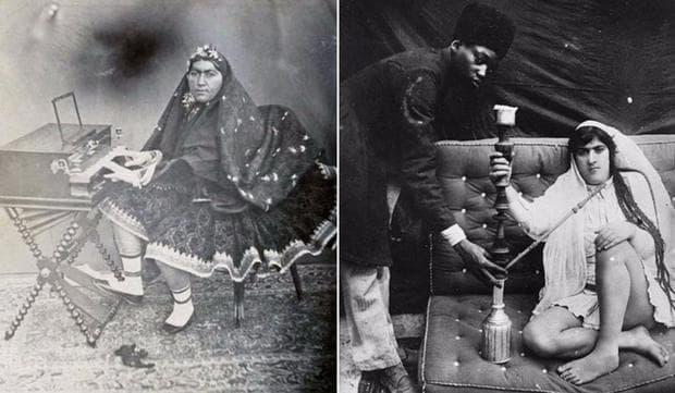 Наложниците на шаха, хванати в ежедневни развлечения