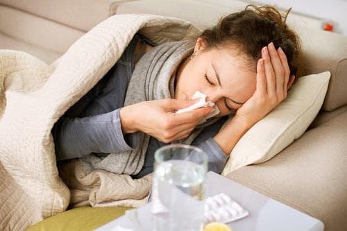 Настинка, грип