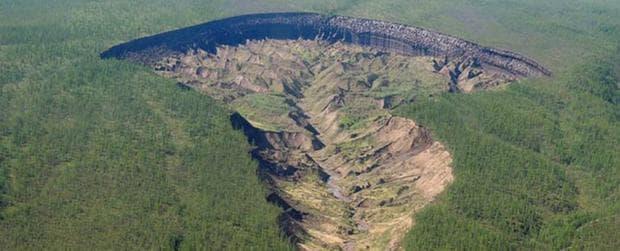 Кратер в Сибир