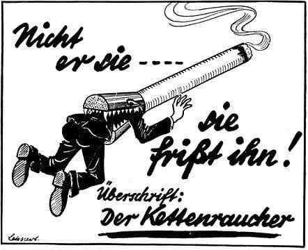 реклама против тютюнопушенето