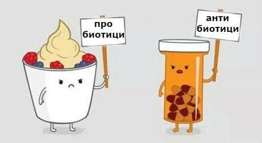 Необходимост от прием на пробиотици при антибиотична терапия