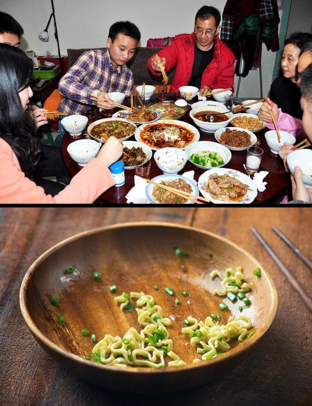 китайци ядат
