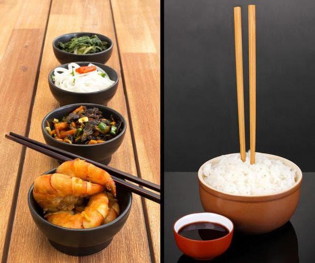 клечки за храна в Япония