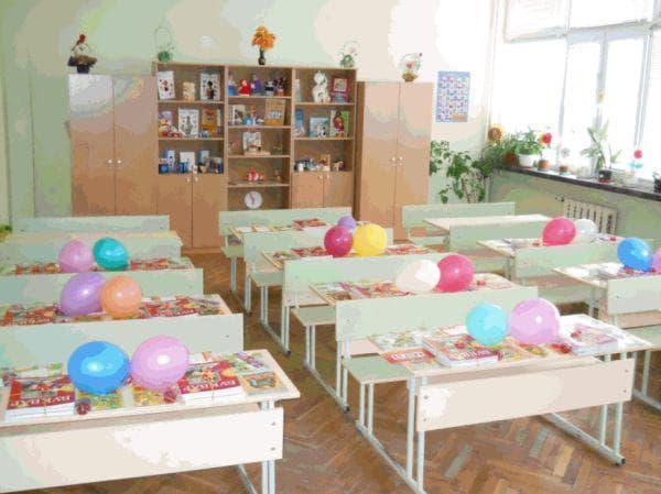 класна стая начален курс