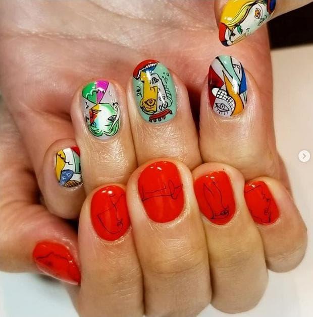пикасо нокти