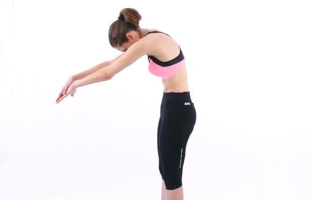 упражнения на Норбеков - долен гръден сегмент - упражнение 1