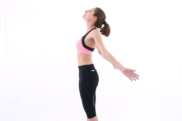 упражнения на Норбеков - долен гръден сегмент - упражнение 2