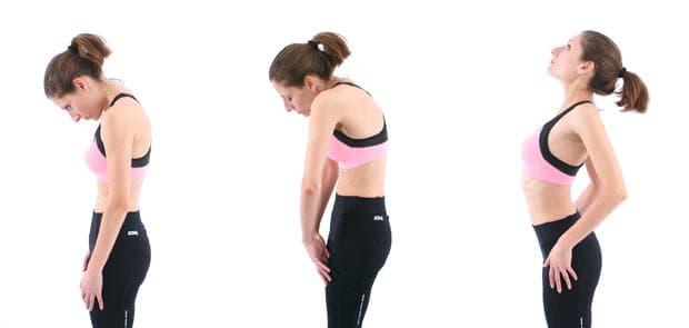 упражнения на Норбеков - долен гръден сегмент - упражнение 4