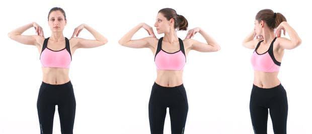 упражнения на Норбеков - долен гръден сегмент - упражнение 6