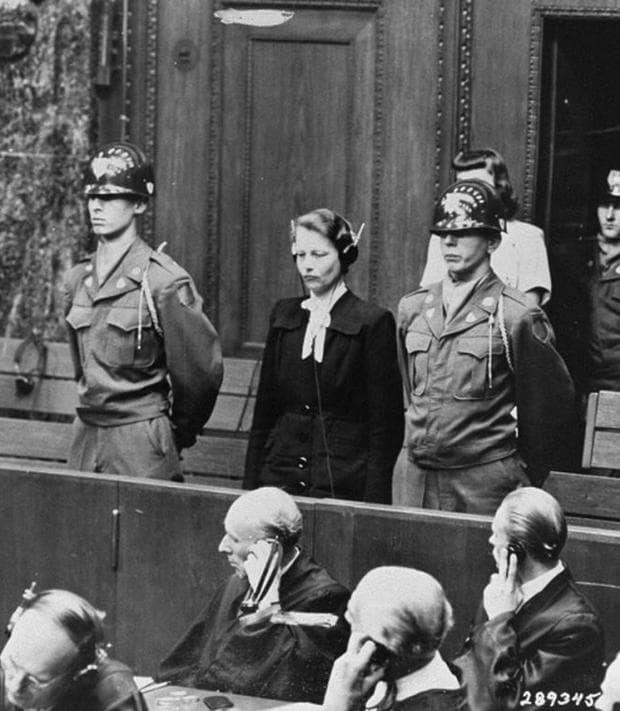 Херга Оберхойзер при Нюрнбергския съд