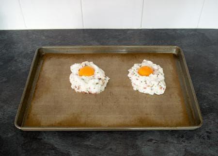 облачни яйца на фурна