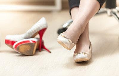 Носете удобни обувки