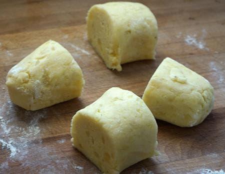 огретен от картофени ньоки