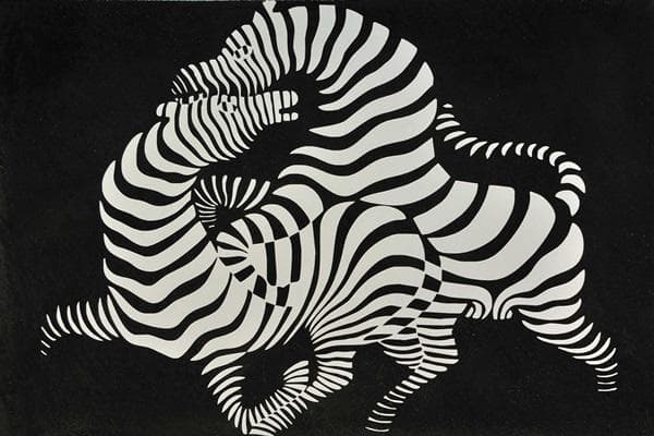 Op Art ilusion