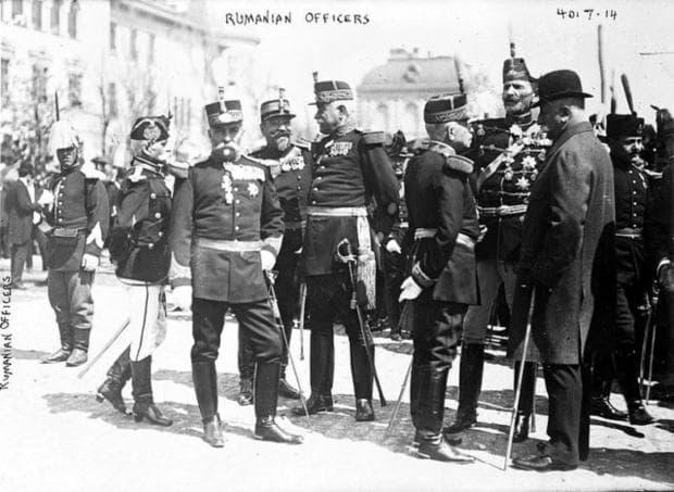 Румънска военна униформа