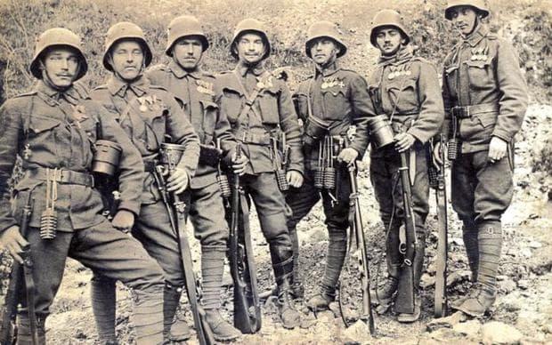 Войници по време на IСВ
