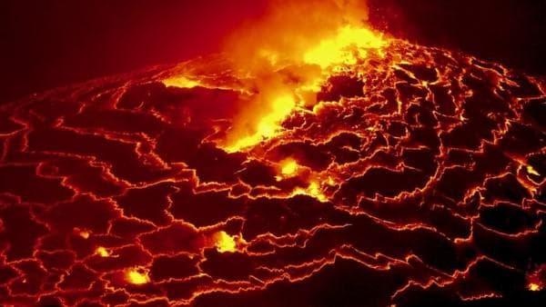Вулканът Нийрагонго