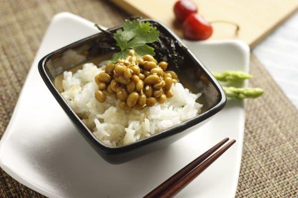 ориз с натто