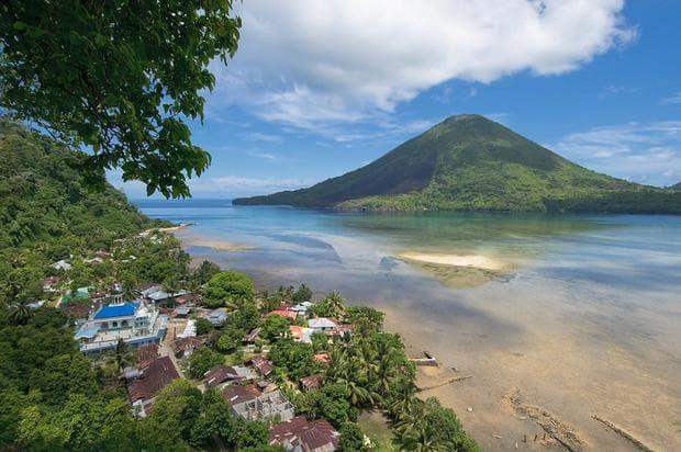 остров Банда, Индонезия